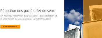 Nouveau règlement pour accélérer la récupération et la valorisation des gros appareils électroménagers