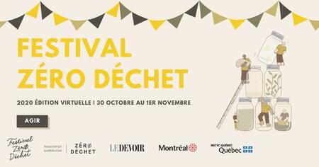 Le Festival Zéro Déchet | 2020 édition virtuelle