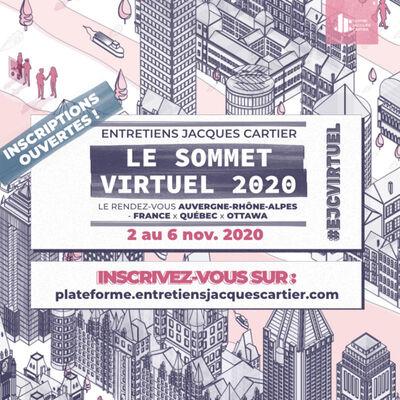 Entretiens Jacques Cartier : le Sommet virtuel 2020