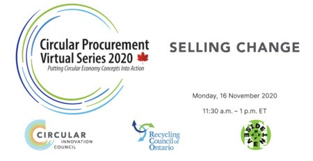 Circular Procurement Virtual Series 2020: Selling Change