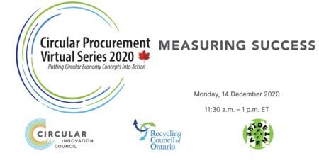 Circular Procurement Virtual Series 2020: Measuring Success