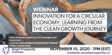 Webinar | Innovation for a Circular Economy: Learning from the Clean Growth Journey