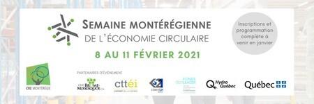 Semaine montérégienne de l'économie circulaire - CRE Montérégie