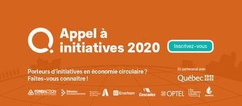 Appel à initiatives 2020: L'innovation par l'économie circulaire