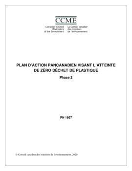 Plan d'action pancanadien visant l'atteinte de zéro déchet de plastique - Phase 2
