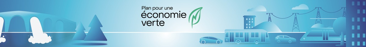 Le gouvernement du Québec lance le Plan pour une économie verte 2030