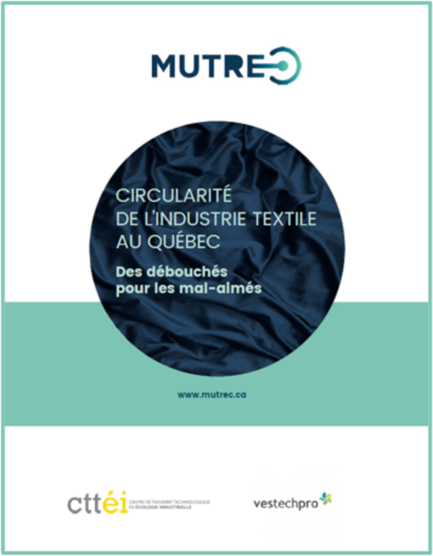 Un rapport pour faire avancer la circularité des textiles au Québec