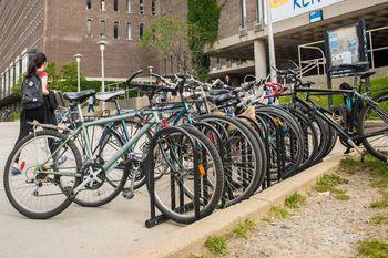 Des vélos recyclés mis à la disposition de la communauté étudiante