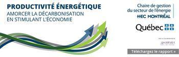 Productivité énergétique : amorcer la décarbonisation en stimulant l'économie