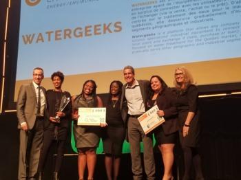 Watergeeks : Trois jeunes entrepreneures se lancent en économie circulaire !