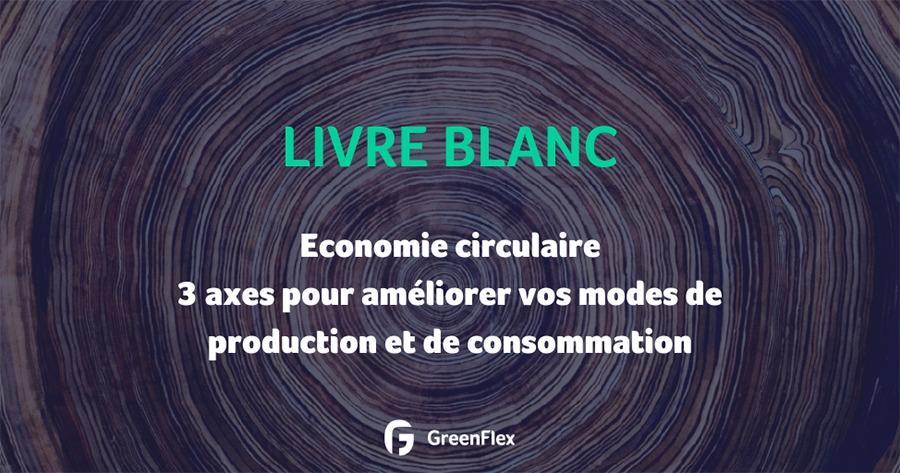 Livre blanc Greenflex : économie circulaire, vers une sobriété positive ?