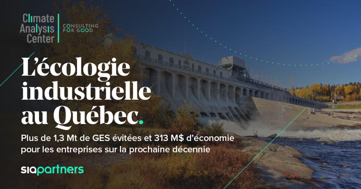 L'écologie industrielle au Québec, un maillon clé de l'économie circulaire