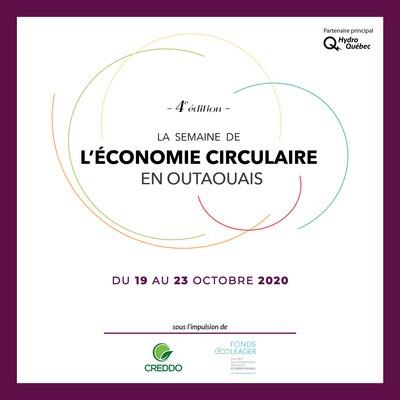 Semaine de l'économie circulaire en Outaouais - 4e Edition