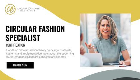 Circular Economy Institute lance sa nouvelle certification en mode et textiles circulaires