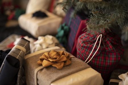 Récupération textile pour l'écoconception d'emballage cadeau réutilisable