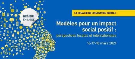 Semaine d'innovation sociale (6e édition)