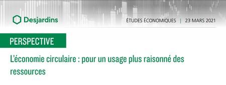 L'économie circulaire : pour un usage plus raisonné des ressources