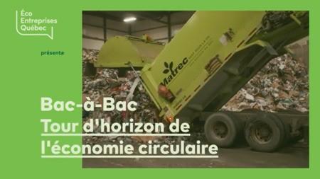 Bac-à-Bac: nouvelle websérie où Rose-Aimée Automne T. Morin s'intéresse à l'économie circulaire