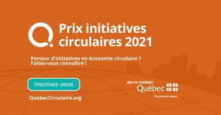 Prix initiatives circulaires: Faites briller vos projets en économie circulaire