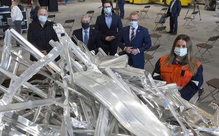 Un nouveau centre pour assurer le recyclage de l'aluminium