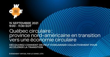 Québec circulaire: apprentissages d'une province nord-américaine en transition vers une économie circulaire