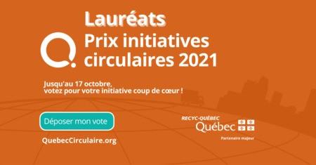 Votez pour votre initiative en économie circulaire locale favorite !