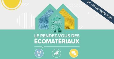 Économie circulaire, construction et écomatériaux: programmation du  Rendez-vous des écomatériaux