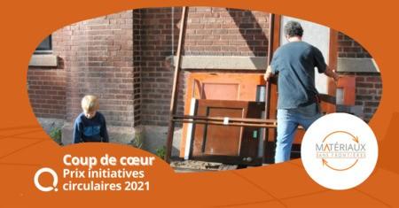 Matériaux Sans Frontières: coup de cœur des Prix initiatives circulaires 2021