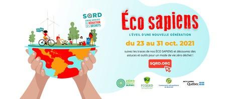 Semaine québécoise de réduction des déchets 2021 (SQRD)