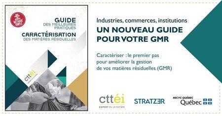 Guide de caractérisation: nouveaux outils du CTTEI pour caractériser les matières résiduelles