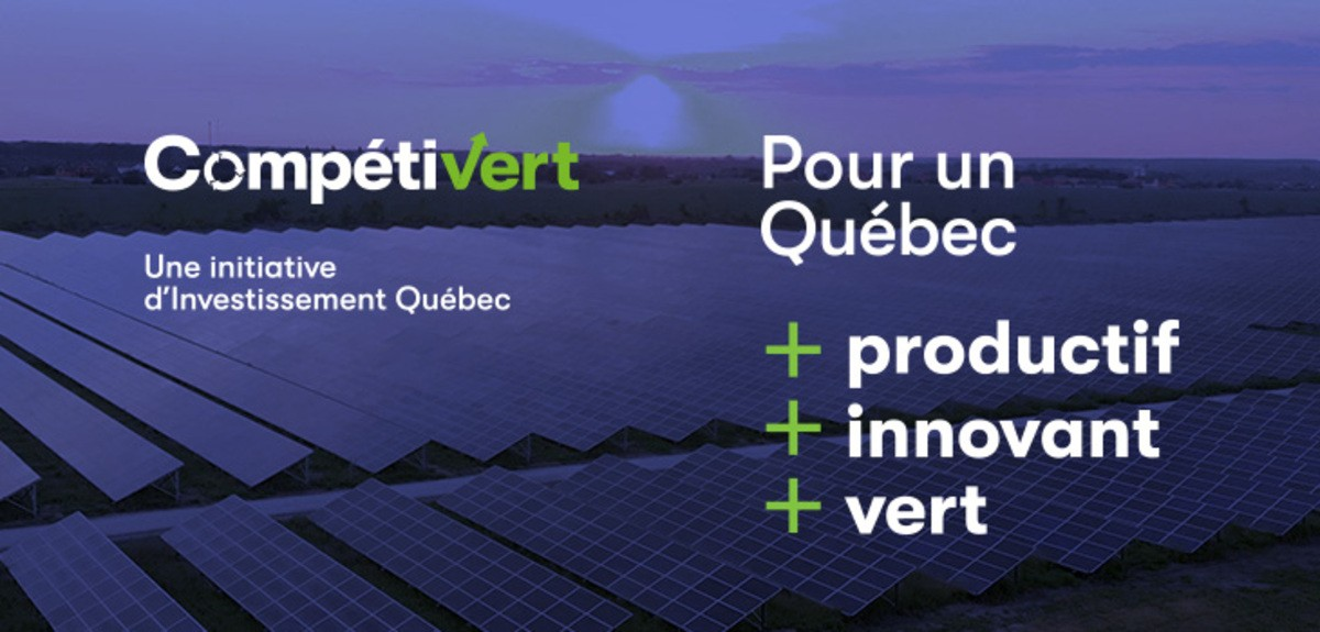 Initiative Compétivert: des entreprises plus compétitives grâce aux possibilités de l'économie verte