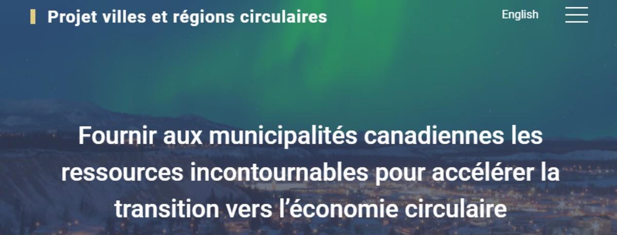 Projet villes et régions circulaires