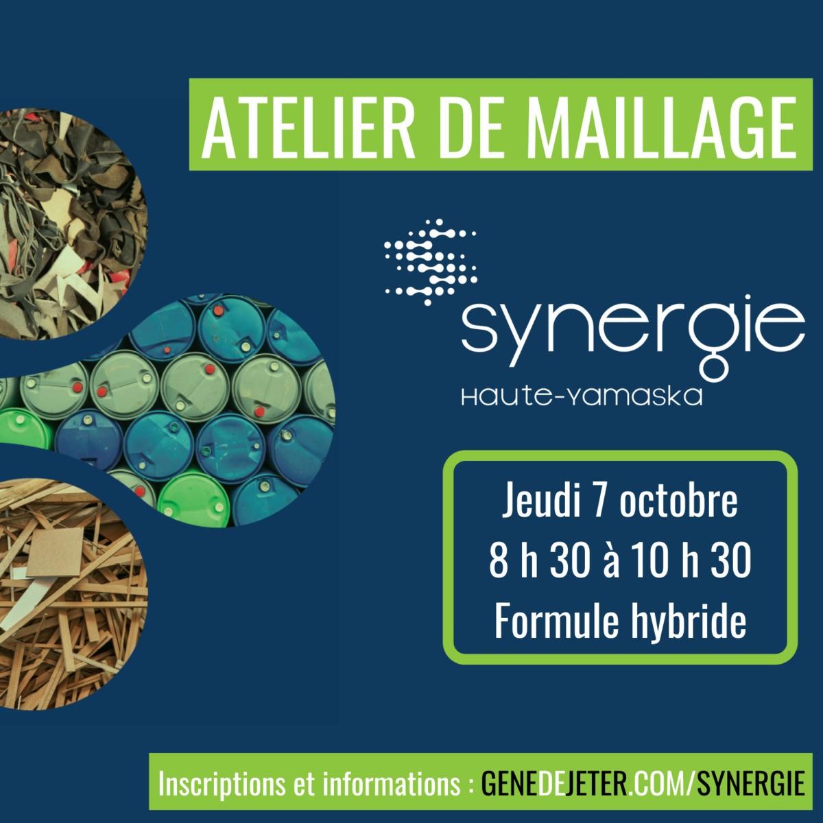 Atelier de maillage hybride Synergie Haute-Yamaska