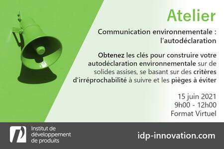 Atelier | Communication environnementale: l'autodéclaration