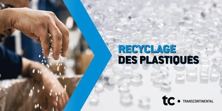 TC Transcontinental est déterminée à jouer un rôle actif dans la création d'une véritable économie circulaire du plastique