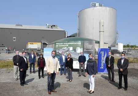 Projet d'augmentation de capacité du centre de traitement des matières organiques par biométhanisation